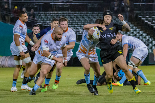 SaberCats vs. Austin Elite Rugby Exhibition Match 1.11.19
