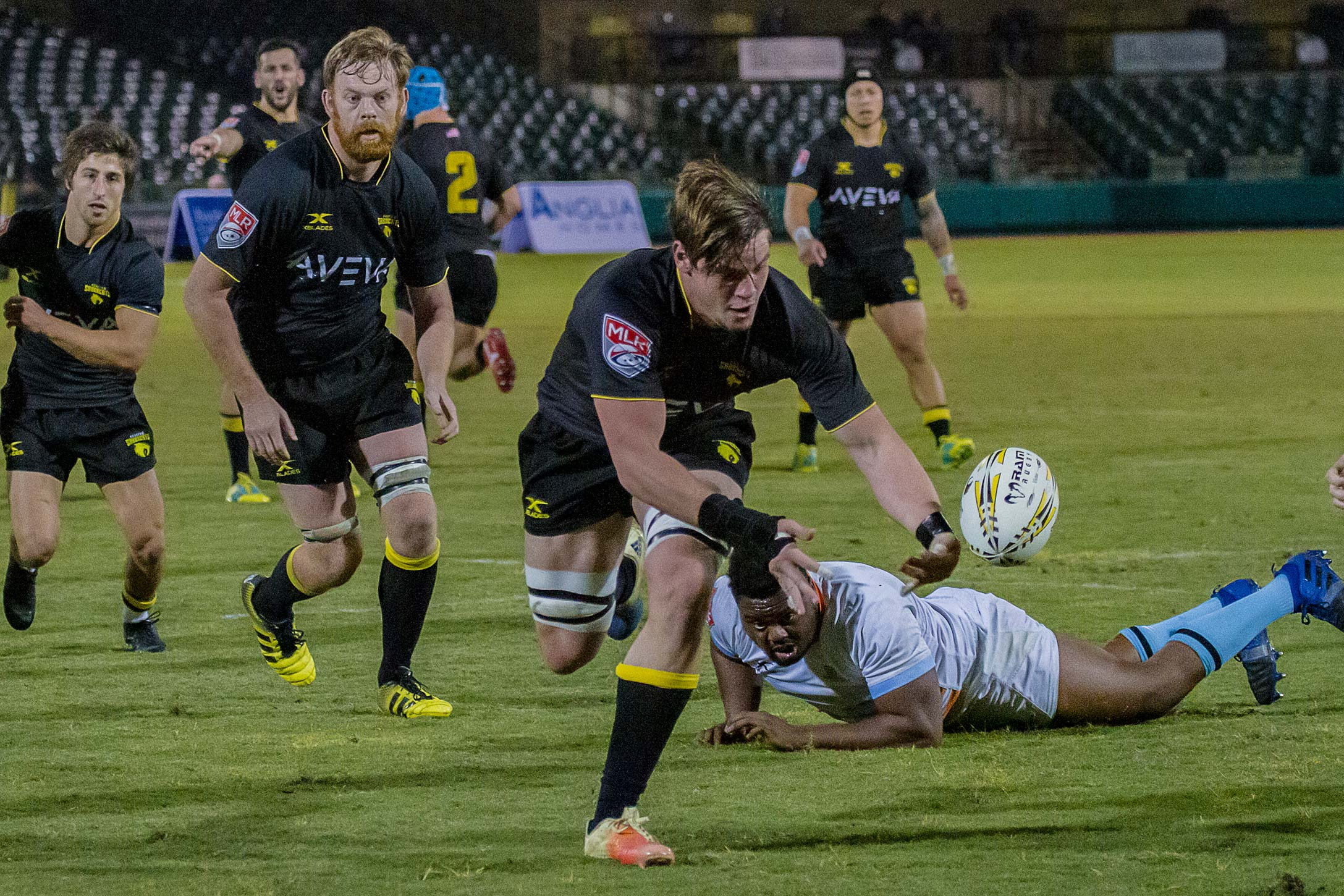Ayron Schramm: Sabercat Stud and World Cup Hopeful