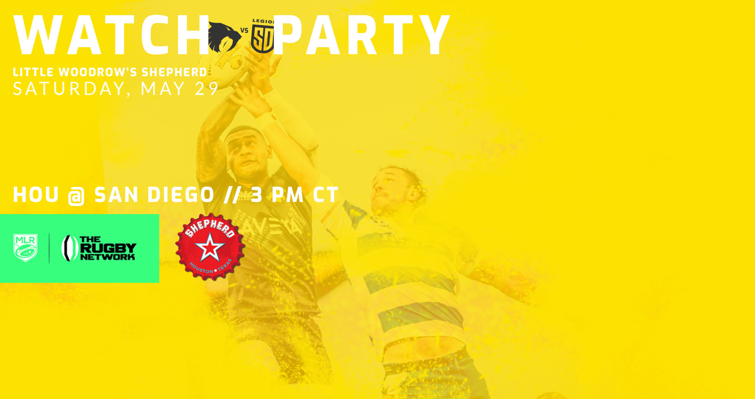 Watch Party – Saturday, May 29